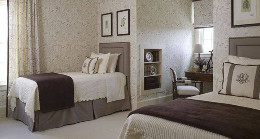 Interesting Perfect Guest Bedroom Decorating