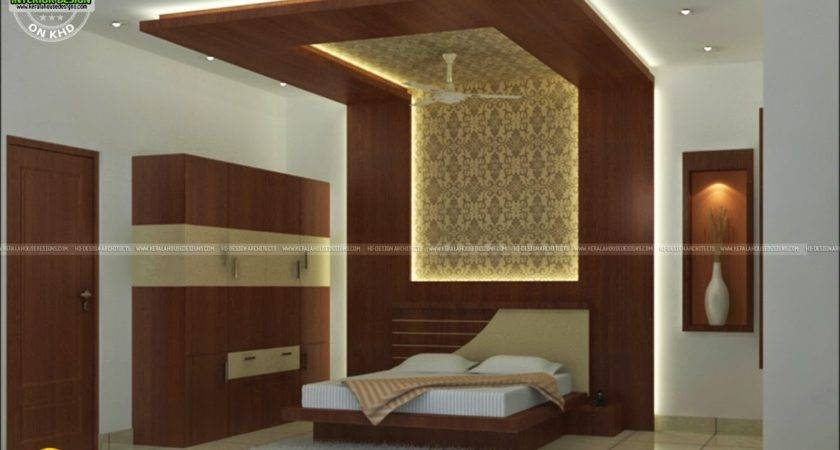 Interior Bed Room Living Dining Kitchen Kerala
