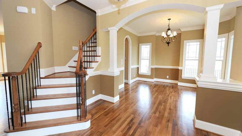 Interior Color Schemes Paint Stairs