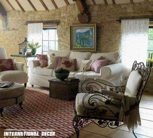 Interior Design Country Style Living Room