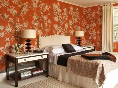Interior Design Decorating Luscious Orange Home