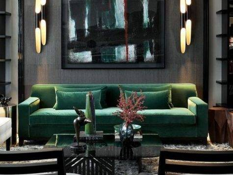 Interior Design Ideas Living Rooms Green