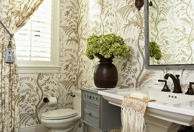 Interior Design Ideas Powder Room Storage Spaces