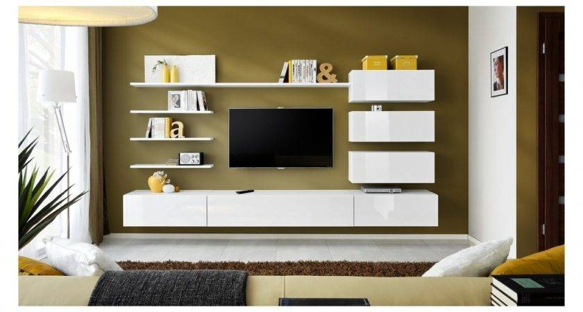 Interior Design Living Room Wall Cabinets