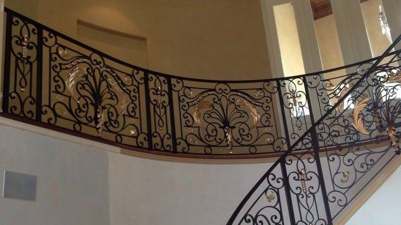 Interior Designs Revive Wrought Iron Railings