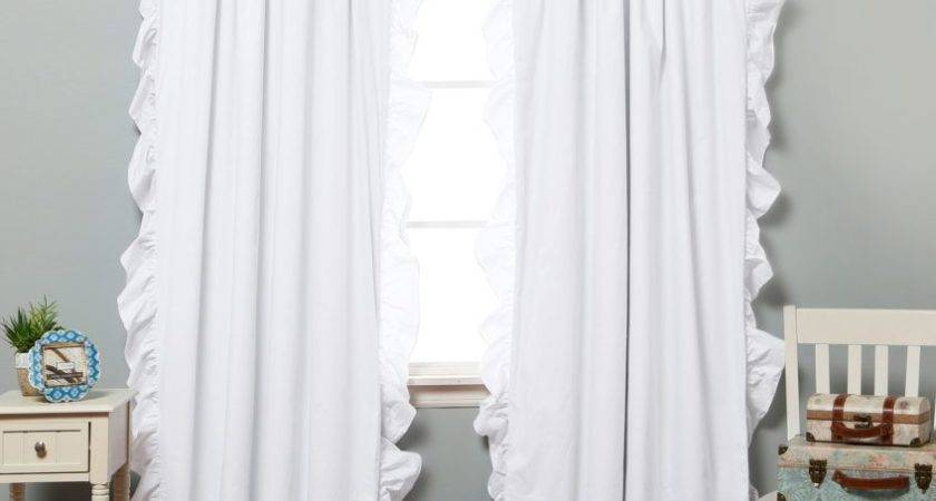 Interior Grey Wall Paint White Curtains Also