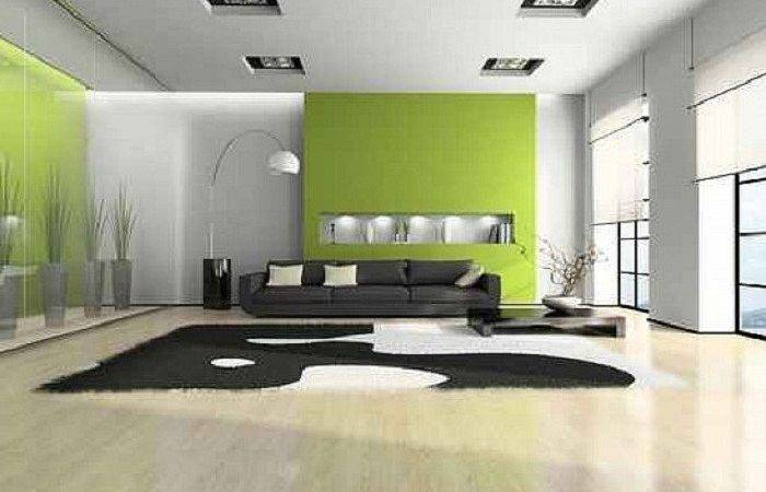 Interior House Painting Ideas Green White Best