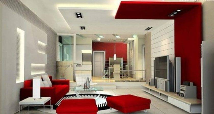 Interior Modern Ceiling Designs Small Living Room