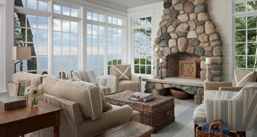 Interior Ocean Themed Living Room Ideas
