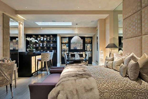 Interior Style Unmistakable Touch Glamour