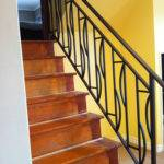 Interior Wrought Iron Railing Guardrail