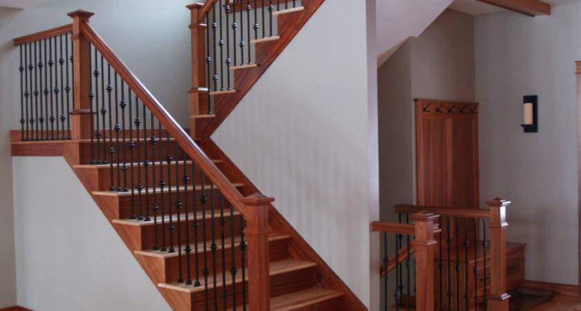 Interior Wrought Iron Stair Railings Good