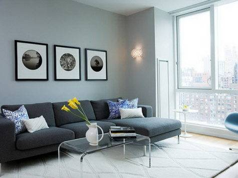 Interiors Gray Inviting Sofas Best Interior