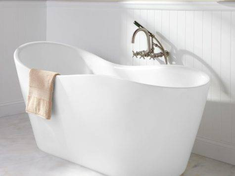Iredell Acrylic Freestanding Tub Bathroom