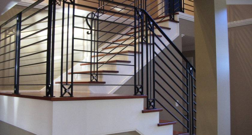 Iron Balustrade Designs Stair Railing Kits Interior