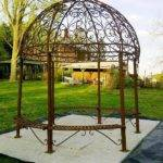 Iron Pergola Kits Wrought Gazebo