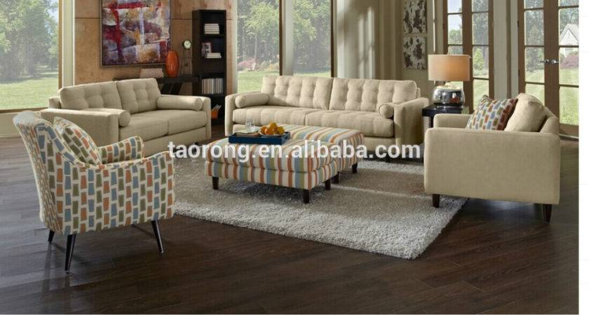 Italian Style Solid Wood Living Room Furniture Set Trso