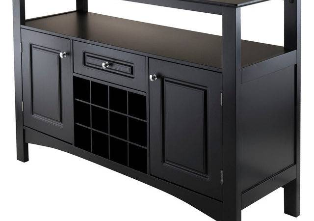 Jasper Storage Buffet Transitional Buffets Sideboards