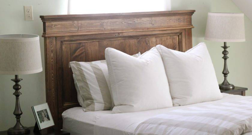 Jenny Steffens Hobick Built Bed Diy Wooden Headboard