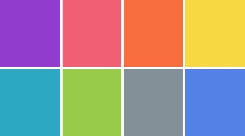 Jilly Jack Designs Bright Color Palette New Year