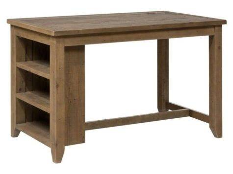 Jofran Slater Mill Wood Counter Height Shelf Dining