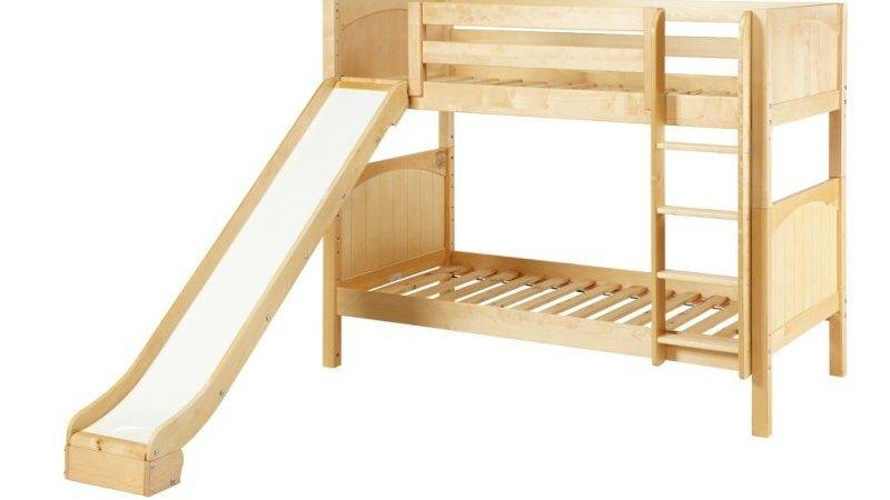 Jolly Twin Over Bunk Bed Ladder Slide