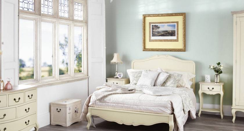 Juliette Shabby Chic Champagne Bedroom Furniture Fnw