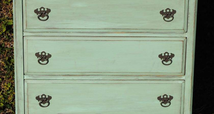 Just Lovely Upcycled Furniture Mint Green Shabby