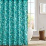 Kensie Aqua Teal White Decorative Modern Chic Fabric