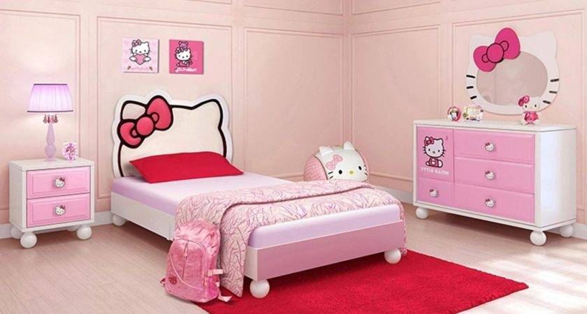 Kids Bedroom Furniture Sets Girls Raya Pink