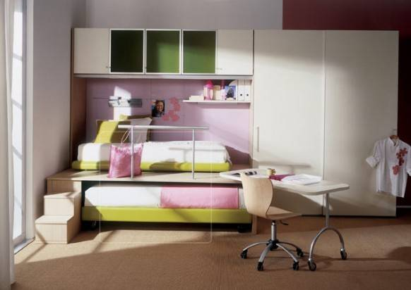 Kids Bedroom Interior Design Ideas Small Rooms
