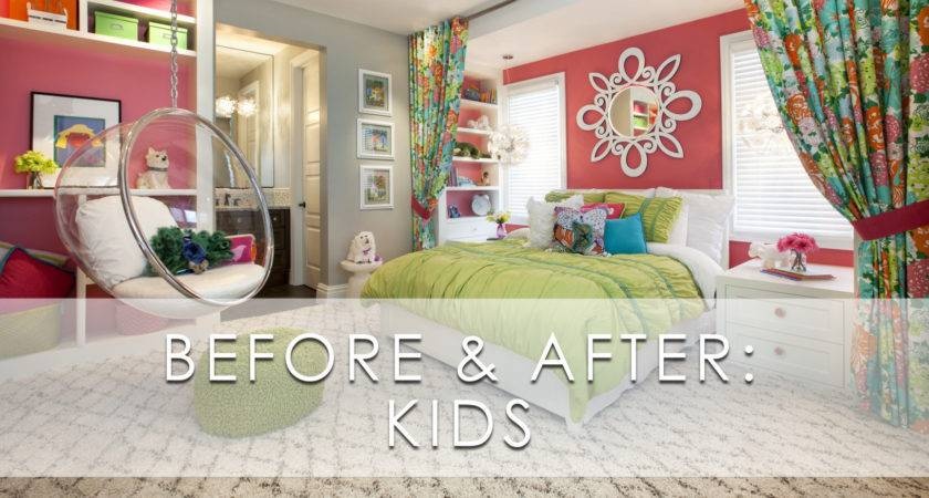 Kids Before After Remodel San Diego Interior Designers