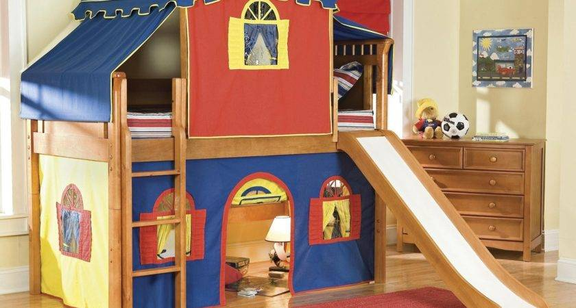 Kids Bunk Beds Slide Modern