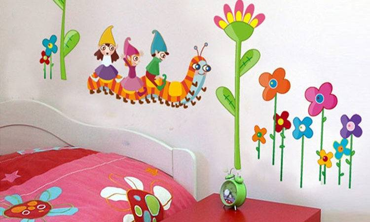 Kids Room Marvelous Wall Decorations Childrens