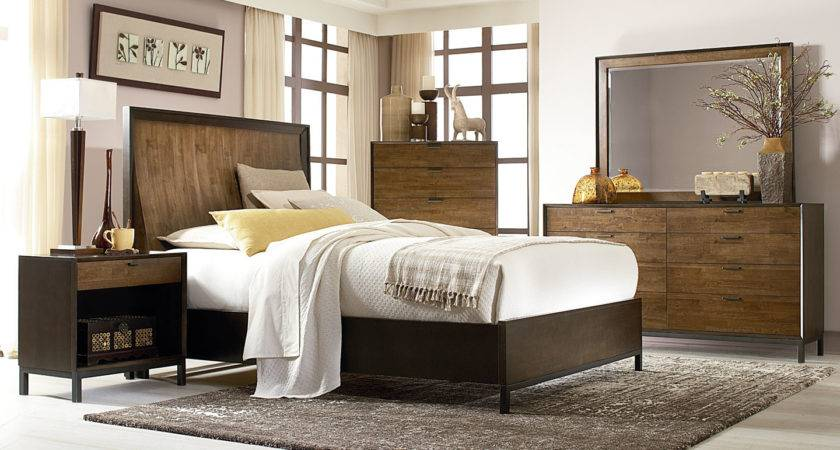 Kipton Contemporary Wood Bedroom Furniture Collection