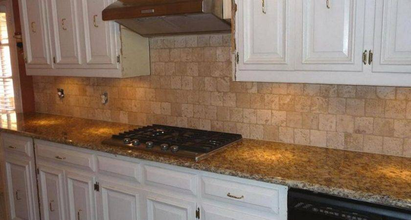 Kitchen Backsplash Ideas Santa Cecilia Granite