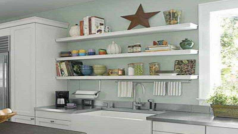 Kitchen Beautiful Diy Shelving Ideas