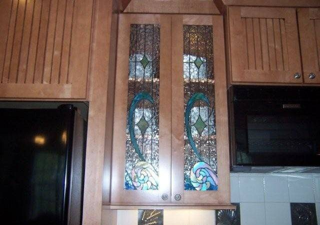 Kitchen Cabinet Glass Doors Design
