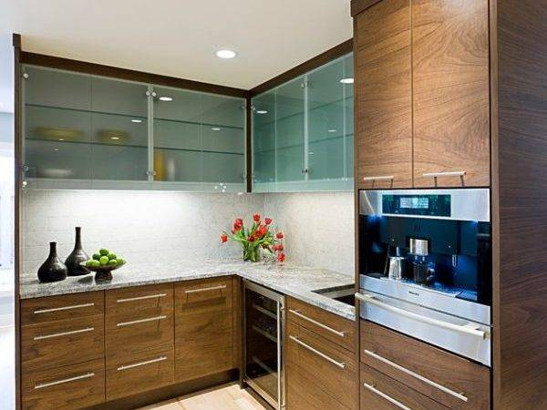 Kitchen Cabinet Ideas Glass Doors Sparkling
