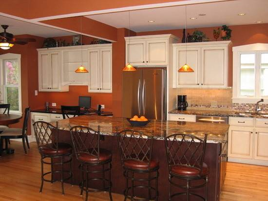 Kitchen Color Schemes Casual Cottage