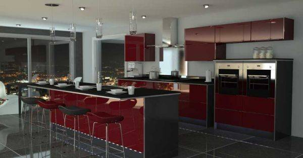 Kitchen Color Schemes Modern Home