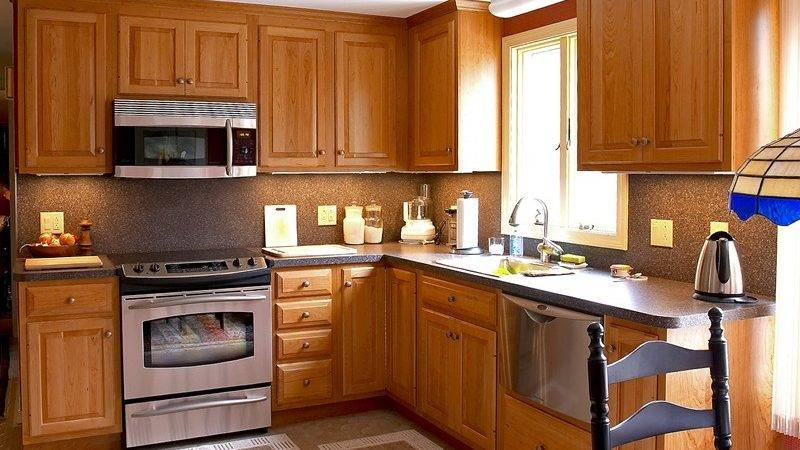 Kitchen Cool Built Cabinets