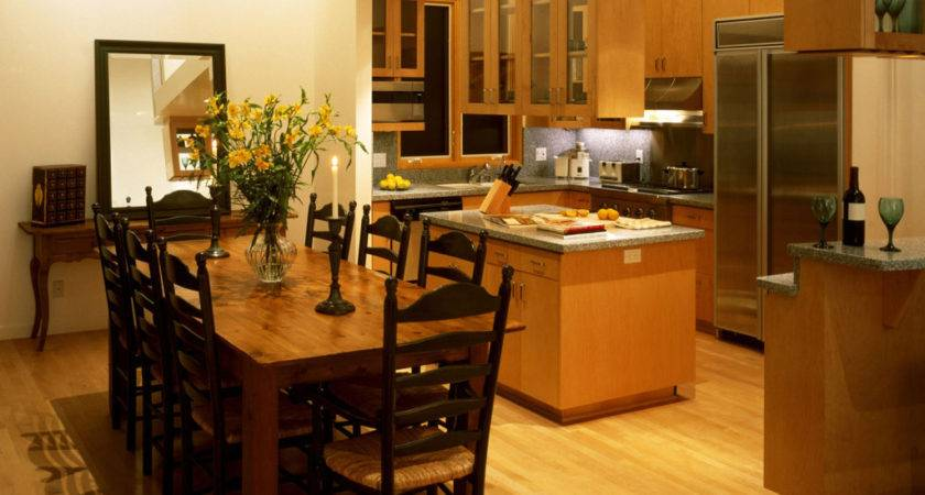 Kitchen Dining Room Designs Grasscloth