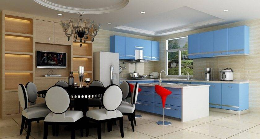 Kitchen Dining Room Interior Design Style Rbservis
