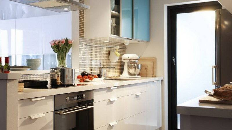 Kitchen Elegant Design Small Space Things