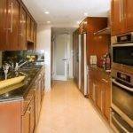 Kitchen Galley Cabinet Designs