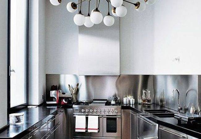 Kitchen Lighting Industrial Style House Decoration Ideas