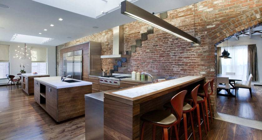 Kitchen Loft Style Ideas Design