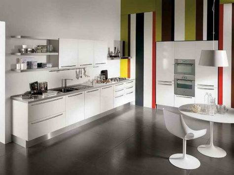 Kitchen One Wall Designs Design