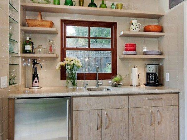 Kitchen Open Shelving Idea Home Pinterest